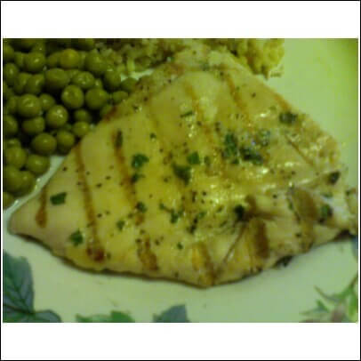 Basil and Garlic-Slathered Chicken Breasts Recipe