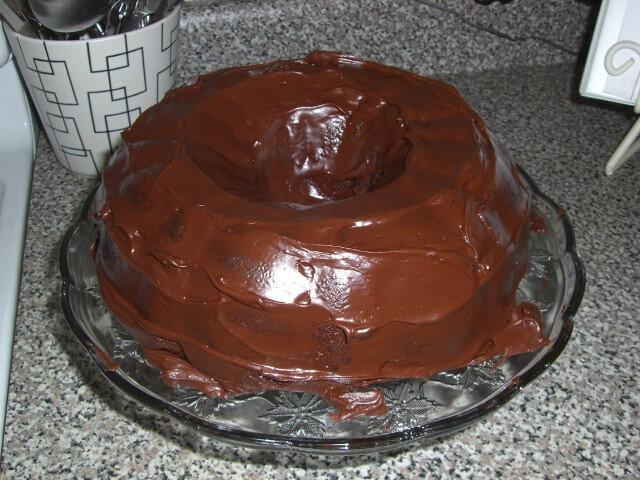 Featured recipe: My Never Fail Chocolate Sour Cream Cake