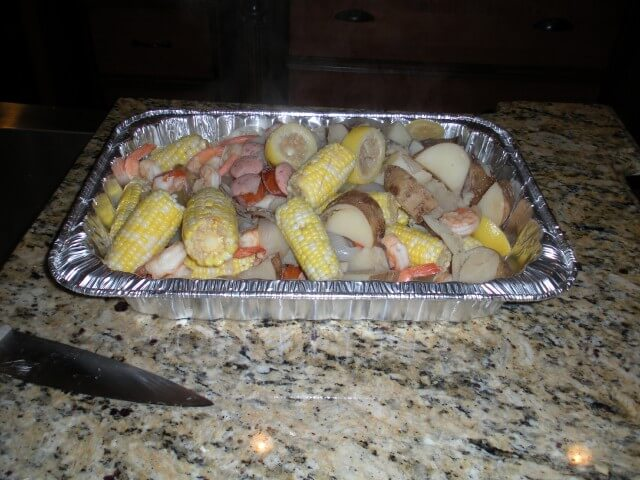 Low Country Shrimp Boil Recipe from CDKitchen