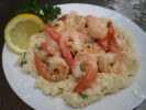 Shrimp Scampi with Risotto