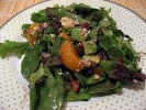 Photo of Cranberry, Glazed Walnut, Orange, Avocado, Blue Cheese Salad
