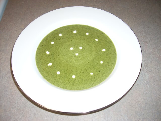 Cream Of Spinach Soup Recipe #43928 from CDKitchen