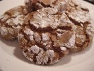 Photo of Spiced Crackle Cookies With Crystallized Ginger