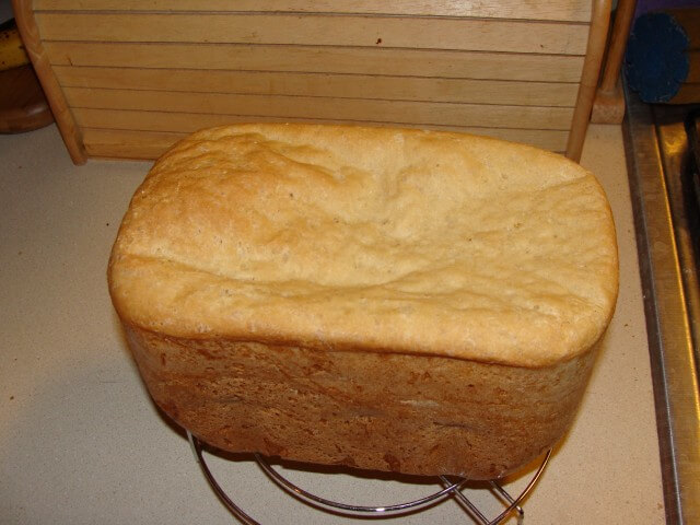 Bread Machine English Muffin Loaf Recipe from CDKitchen