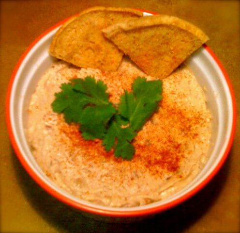 Black Eyed Pea Hummus Recipe