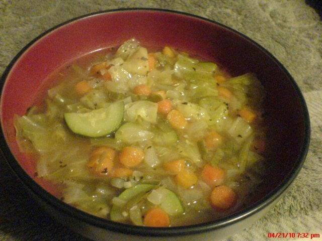 Weight Watchers Garden Vegetable Soup Recipe