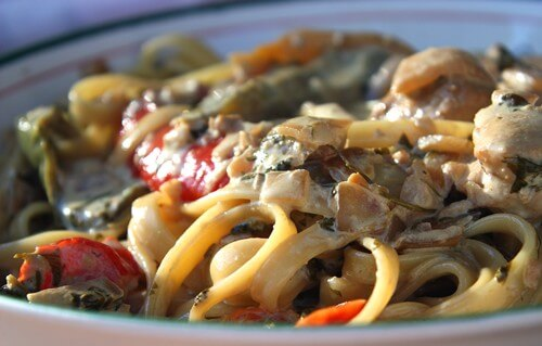 ... Pizza Kitchen Chicken Tequila Fettuccine Recipe | CDKitchen.com