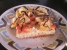 Photo of Banana Split Cheesecake Bars Recipe on CDKitchen