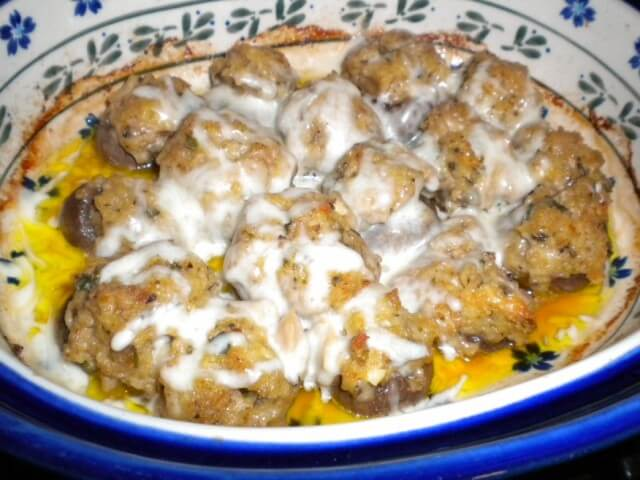 Olive Garden Style Clam Stuffed Mushrooms Recipe From