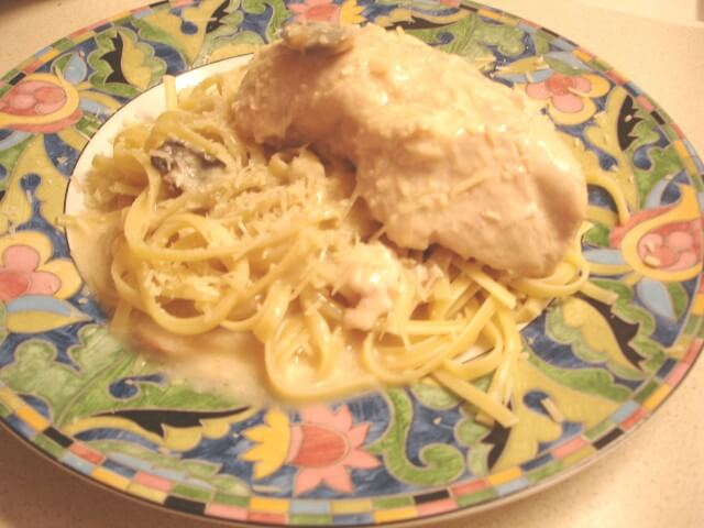 Garlic Chicken Alfredo Recipe