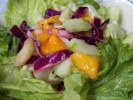 Slightly modified Mango & Cucumber Salad