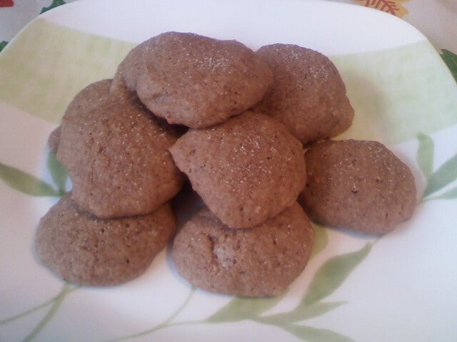 Applesauce Spice Cookies With Cinnamon-Sugar Topping Recipe from ...
