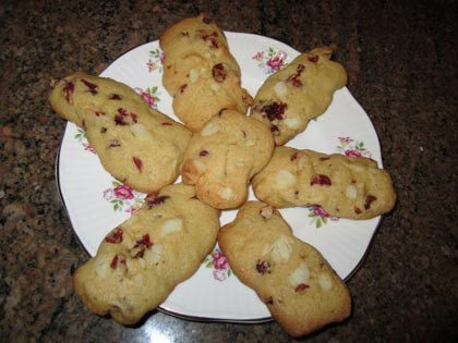Cranberry Macadamia Cookies Recipe