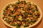 Photo of Cranberry, Feta and Roasted Walnut Salad Recipe on CDKitchen