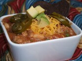 Photo of White Bean Brat Chili