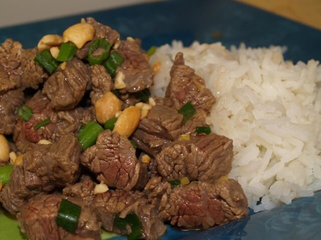 Recipe for Kung Pao Beef