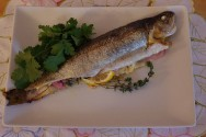 Photo of Whole Rainbow Trout With Lemon, Fennel And Shallots