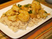 Photo of Light Lemon Curry Shrimp