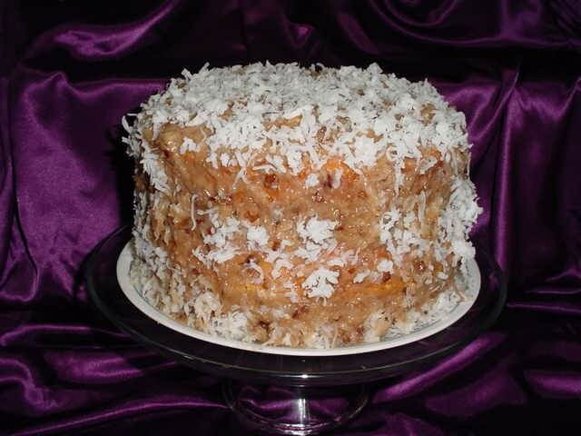 Coconut Pecan Butter Cake Recipe