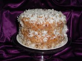 Photo of Coconut Pecan Butter Cake