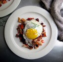 Photo of Chicken Hash With Fried Eggs Recipe on CDKitchen