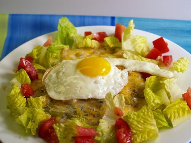 Old Style Green Chile Enchiladas Recipe | CDKitchen.com