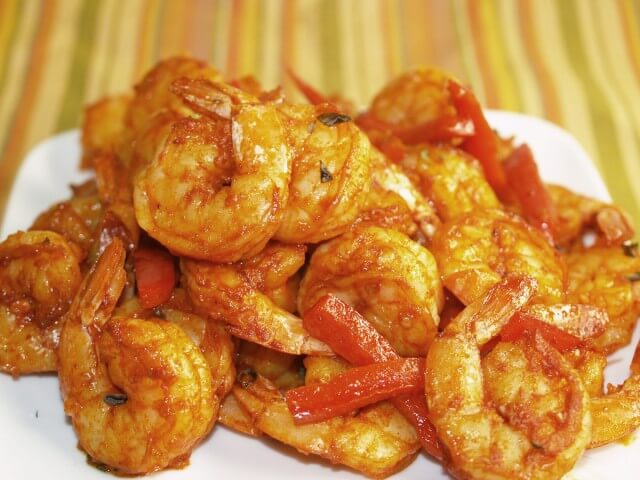 Spicy Garlic And Smoked Paprika Roasted Shrimp Recipe | CDKitchen.com