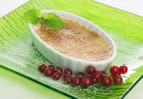 Easy Creme Brulee Recipe from CDKitchen
