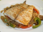 Photo of Five-Spice Barramundi With Hoisin Shirataki Noodles Recipe on CDKitchen