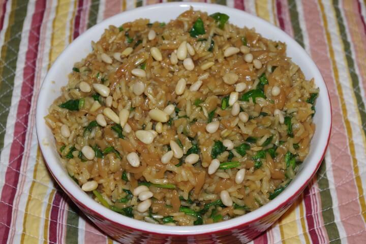 Saffron And Orange Rice Pilaf With Orzo And Pine Nuts Recipes ...