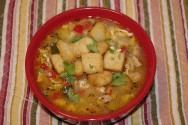 Photo of Egg Drop Turkey Soup