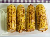 Photo of Smoky-Spicy Grilled Corn Recipe on CDKitchen