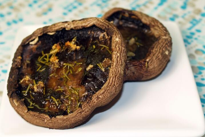 Roasted Mushrooms With Rosemary And Garlic Recipes — Dishmaps