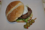 Photo of Gyro Burgers With Zouped Up Tzatziki