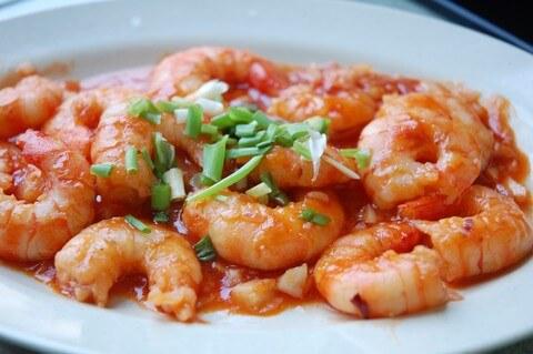 ... sauteed five spice shrimp recipes dishmaps sauteed five spice shrimp