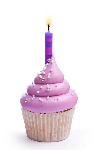 Purple Party Cupcakes Recipe | CDKitchen.com