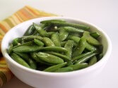 Photo of Garlic Snap Peas