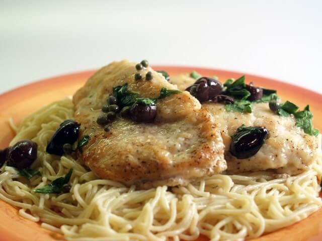 Chicken Scaloppine Recipe   CDKitchen.com