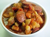 Photo of Chicken Cajun Smoked Sausage Stew Recipe on CDKitchen