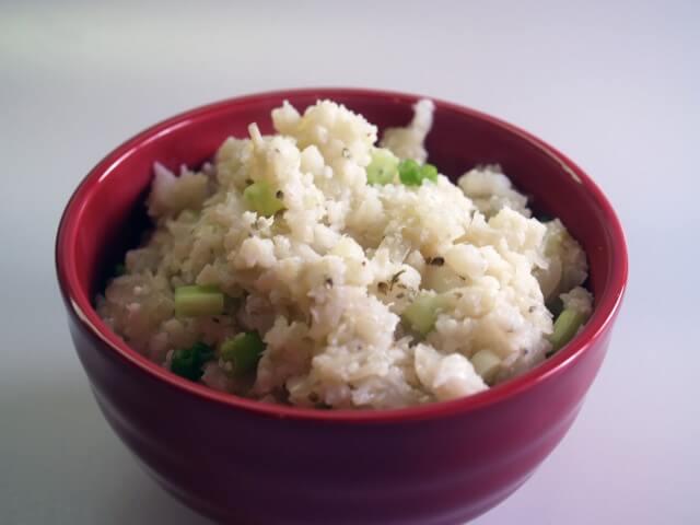 Mashed Scallion Cauliflower With Fennel Recipe from CDKitchen