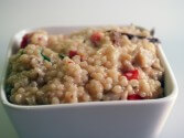 Photo of Couscous Risotto With Wild Mushrooms And Pecorino Cheese
