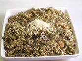 Photo of Risotto With Spinach And Mushrooms