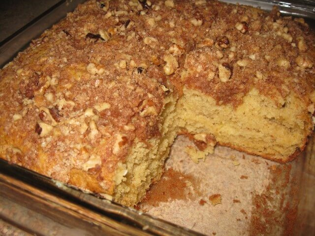 Applesauce Coffee Cake Recipe