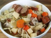 Kielbasa Stew Recipe in the Crock Pot