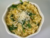 Photo of Vegetarian Risotto With Fresh Spinach