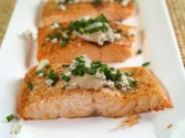 Photo of Salmon with Blue Cheese Recipe on CDKitchen