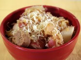 Low Fat Turkey Sausage Stew Recipe in the Crock Pot