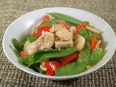 Photo of Chicken Breasts With Sweet Red Peppers Recipe on CDKitchen