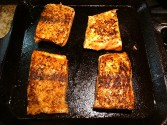 Photo of Maple-Chipotle Glazed Salmon