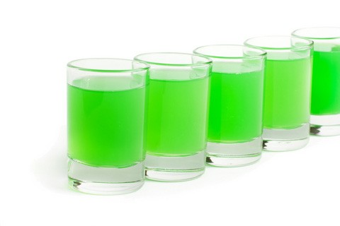 St. Patrick's Day Jell-O Shots Recipe